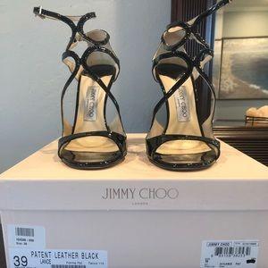 Jimmy Choo Lang high heeled sandals